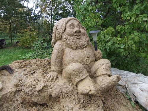 Фигура из песка