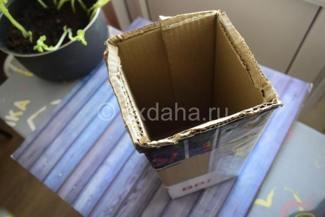 Большая каробка для картофеля