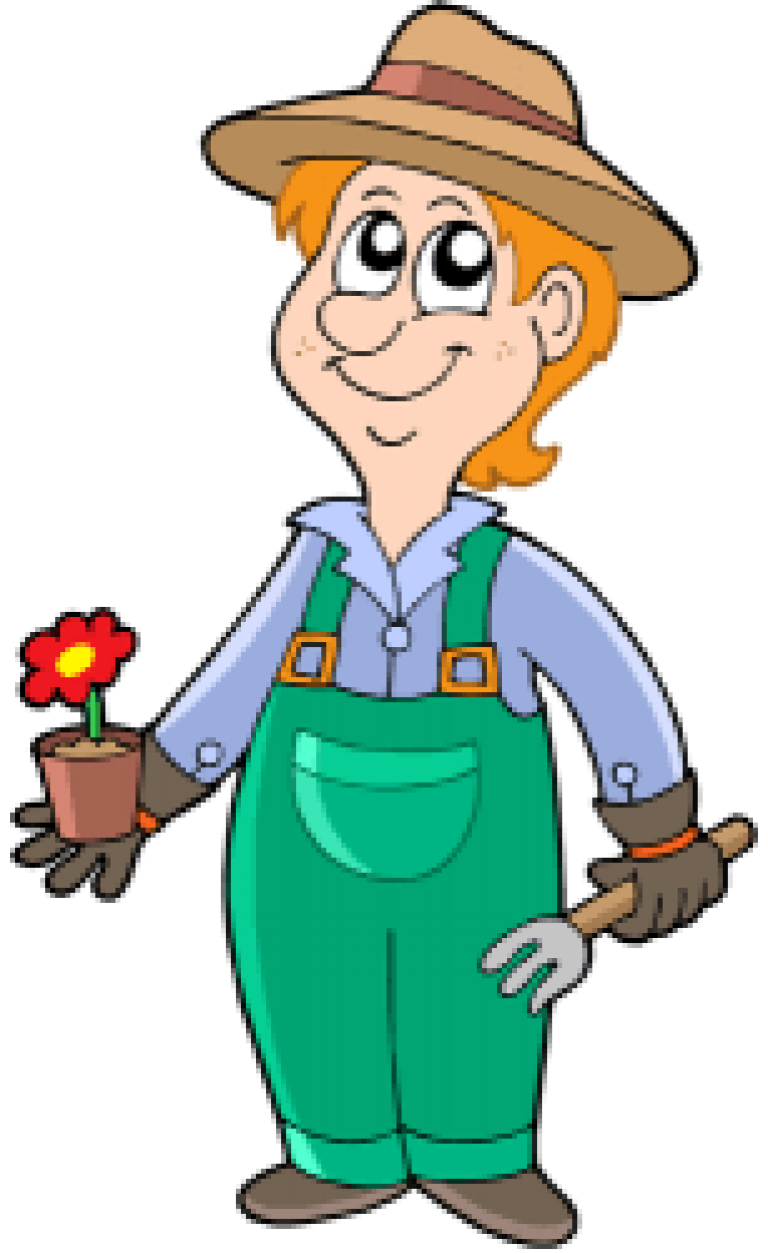 Садовник картинки для детей нарисованные