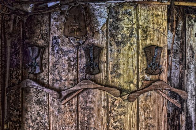 Черная гниль в деревянном доме