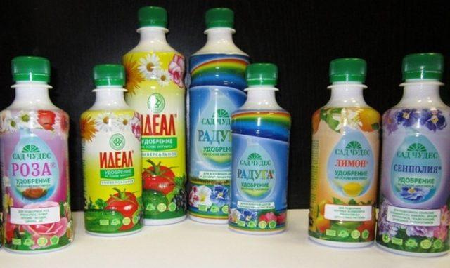 Жидкие удобрения комнатным растениям