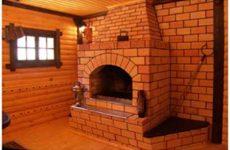 Установка камина-печи для садового домика