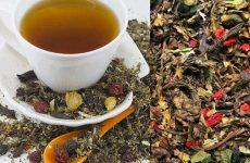 Листья земляники для целебного чая